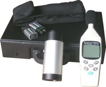 decibel meter and calibrator